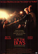For the Boys 1991 Movie poster Bette Midler