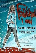 Stephanie 1959 Movie poster Sabine Sinjen