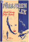 Forbidden Games 1952 Movie poster Georges Poujouly Ren� Cl�ment