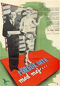 F�rs�k inte med mej 1946 Movie poster �ke S�derblom