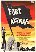 Fort Algiers 1953 Movie poster Yvonne De Carlo