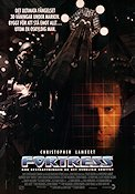 Fortress 1992 Movie poster Christopher Lambert