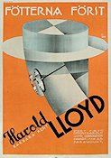 Feet First 1930 Movie poster Harold Lloyd