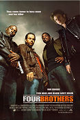 Four Brothers 2005 poster Mark Wahlberg John Singleton