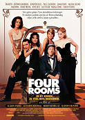 Four Rooms 1995 Movie poster Antonio Banderas Quentin Tarantino