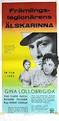 Le Grand Jeu 1955 Movie poster Gina Lollobrigida