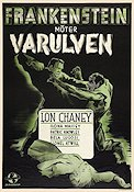 Frankenstein Meets the Wolf Man 1943 poster Lon Chaney Jr