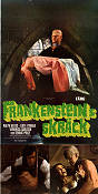 Horror of Frankenstein 1971 Movie poster Ralph Bates