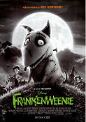 Frankenweenie 2012 Movie poster Tim Burton
