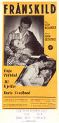 Frånskild 1952 Movie poster Inga Tidblad