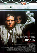 Frantic 1988 Movie poster Harrison Ford Roman Polanski
