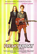 Freaky Friday 2003 Movie poster Jamie Lee Curtis