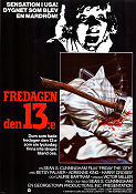 Friday the 13th 1980 Movie poster Betsy Palmer