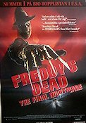 Freddy's Dead the Final Nightmare 1991 Movie poster Robert Englund