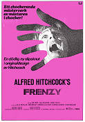 Frenzy 1972 Movie poster John Finch Alfred Hitchcock