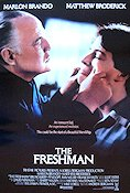 The Freshman 1990 Movie poster Marlon Brando