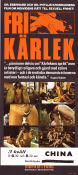 Fri k�rlek 1970 Movie poster Phyllis-Eberhard Kronhausen