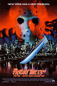 Friday the 13th part 8 1989 Movie poster Rob Hedda