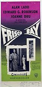 Frisco Bay 1956 Movie poster Alan Ladd
