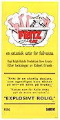 Fritz the Cat 1972 poster Ralph Bakshi