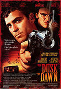 From Dusk Till Dawn 1996 Movie poster George Clooney