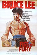 Fist of Fury 1974 Movie poster Bruce Lee