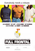 Full Frontal 2002 Movie poster David Duchovny Steven Soderbergh