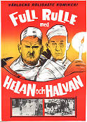 Full rulle med Helan och Halvan 1968 Movie poster Laurel and Hardy