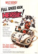 Herbie Rides Again 1974 Movie poster Helen Hayes