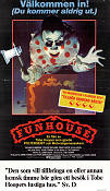 The Funhouse 1983 poster Elizabeth Berridge Tobe Hooper