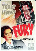 Fury 1936 poster Spencer Tracy Fritz Lang