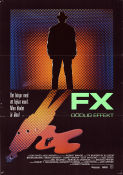 FX 1986 Movie poster Bryan Brown