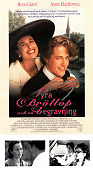 Four Weddings and a Funeral 1993 poster Hugh Grant Mike Newell