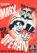 A Night at the Opera 1935 Movie poster Marx Brothers Sam Wood