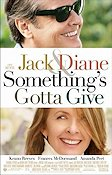 Something's Gotta Give 2003 Movie poster Jack Nicholson