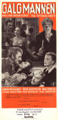 Galgmannen 1945 Movie poster Wanda Rothgardt Gustaf Molander