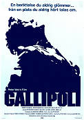 Gallipoli 1982 Movie poster Mel Gibson Peter Weir