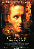 The Game 1997 Movie poster Michael Douglas David Fincher