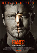 Gamer 2009 poster Gerard Butler Mark Neveldine