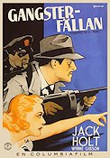 Trapped by G-Men 1937 poster Jack Holt