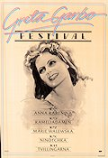 Garbo Festival 1980 Movie poster Greta Garbo