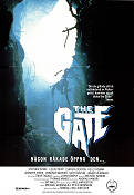 The Gate 1987 Movie poster Stephen Dorff Tibor Takacs