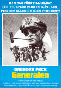 MacArthur the Rebel General 1977 Movie poster Gregory Peck