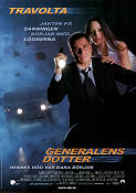 The General's Daughter 1999 Movie poster John Travolta