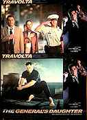 The General's Daughter 1999 lobby card set John Travolta