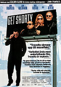 Get Shorty 1995 poster John Travolta