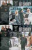 Get Shorty 1995 lobby card set John Travolta