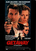 The Getaway 1993 Movie poster Alec Baldwin