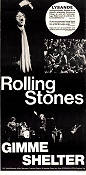 Gimme Shelter 1971 Movie poster Rolling Stones David Maysles