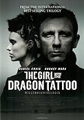 The Girl with The Dragon Tattoo 2011 Movie poster Daniel Craig David Fincher